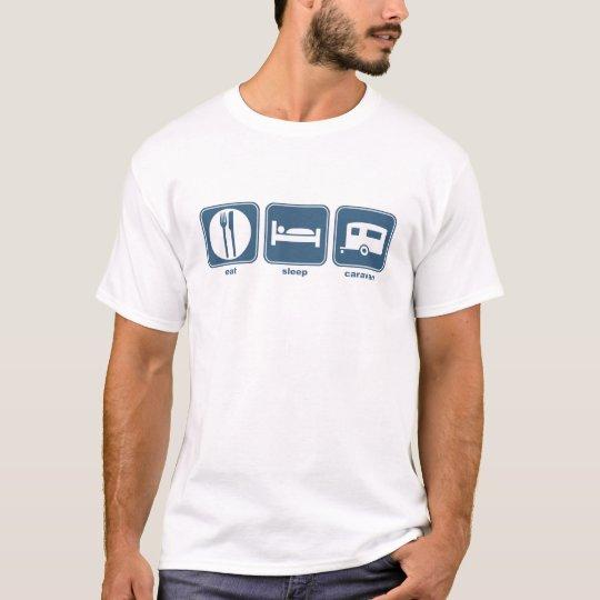 eat sleep caravan T-Shirt