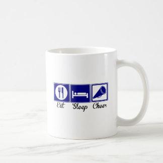 Eat, Sleep, Cheer Basic White Mug