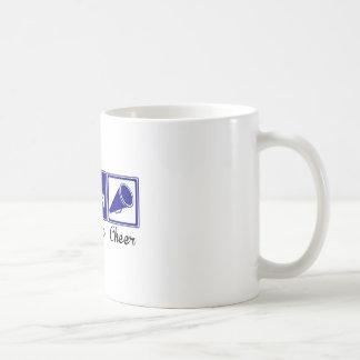 Eat, Sleep, Cheer Coffee Mugs