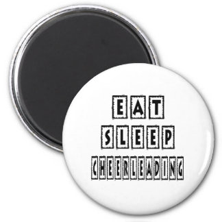 Eat Sleep Cheerleading Magnet