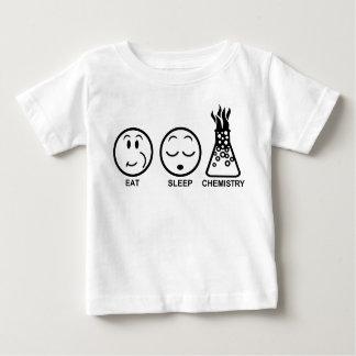 Eat Sleep Chemistry Baby T-Shirt