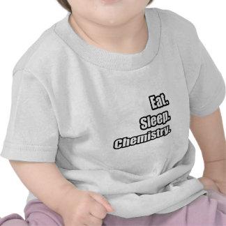 Eat. Sleep. Chemistry. T Shirts