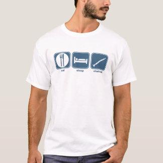 eat sleep clarinet T-Shirt