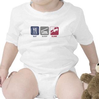 Eat Sleep Climb - Girl Tee Shirt
