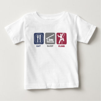 Eat Sleep Climb - Picto Baby T-Shirt