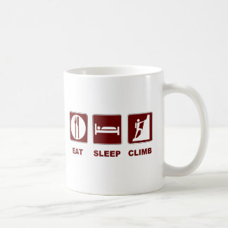Eat Sleep Climb T-shirt and gift design Coffee Mug