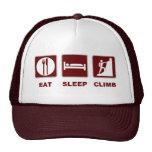 Eat Sleep Climb T-shirt and gift design Trucker Hat