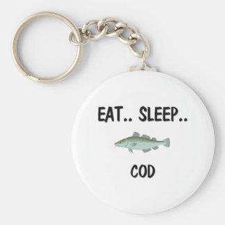 Eat Sleep COD Key Ring