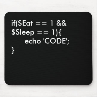 Eat . Sleep. Code Mouse Mat