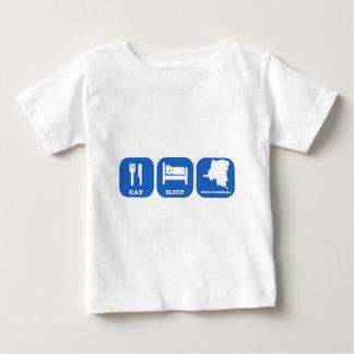 Eat Sleep Congo Kinshasa Tshirt