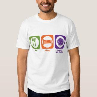 Eat Sleep Control Air Traffic Shirts