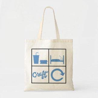 Eat Sleep Craft Repeat Tote