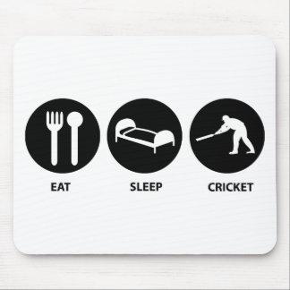 Eat Sleep Cricket Mouse Mat