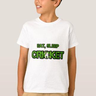 Eat Sleep Cricket T-shirts