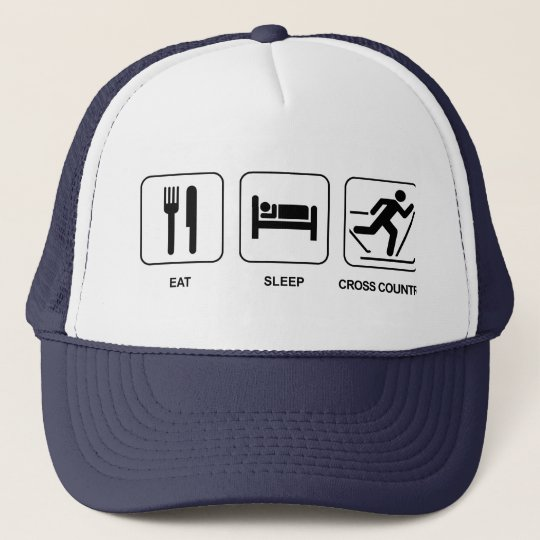 Eat Sleep Cross Country Cap