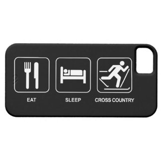 Eat Sleep Cross Country iPhone 5 Covers