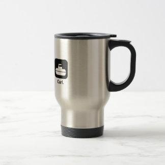 Eat, Sleep, Curl Coffee Mug