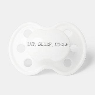 Eat Sleep Cycle Baby Pacifier