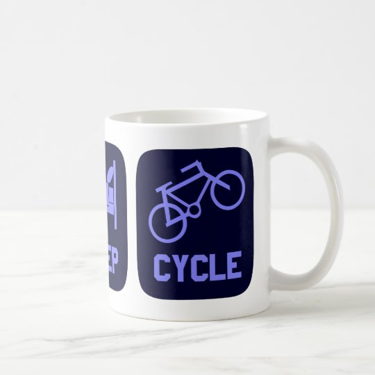 Eat Sleep Cycle Coffee Mug