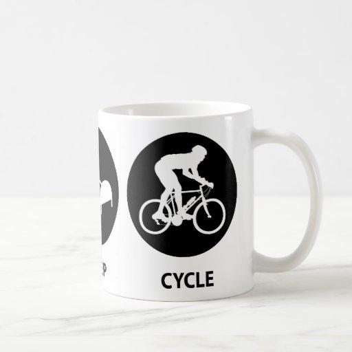 Eat Sleep Cycle Mug