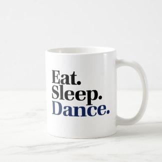 Eat Sleep DANCE Basic White Mug