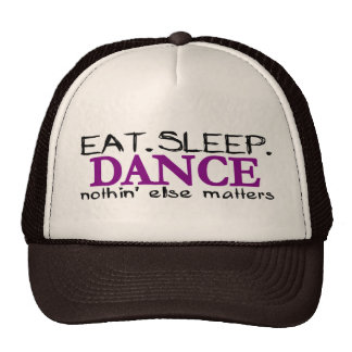 Eat Sleep Dance Cap