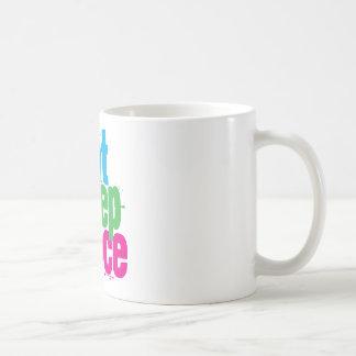 Eat, Sleep, Dance Coffee Mug