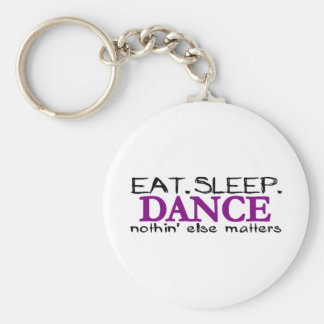 Eat Sleep Dance Key Ring