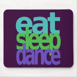 eat sleep dance mouse pad