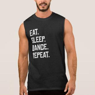 Eat Sleep Dance Repeat Sleeveless Shirt
