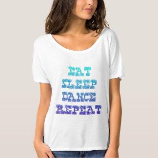 Eat sleep dance tee