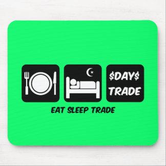 eat sleep day trader mousepad