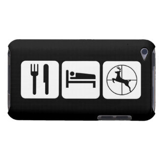 Eat Sleep Deer Hunt Funny iPod Touch Case-Mate Case