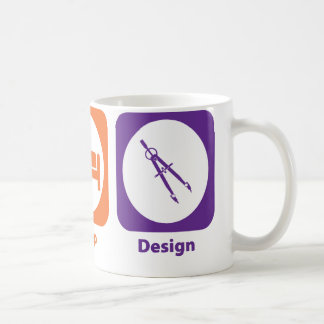 Eat Sleep Design Coffee Mug