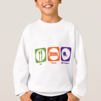 Eat Sleep Dig Dinosaurs Sweatshirt