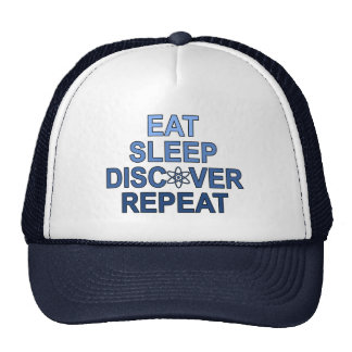 Eat Sleep Discover Repeat Hat