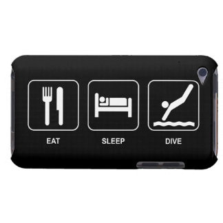 Eat Sleep Dive Barely There iPod Cases