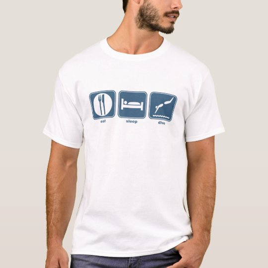 eat, sleep, dive T-Shirt