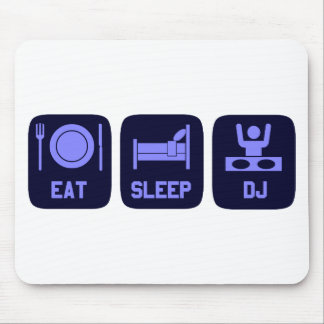 Eat Sleep DJ Mouse Mat