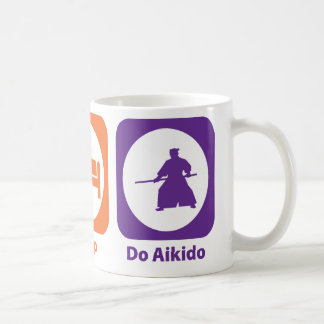 Eat Sleep Do Aikido Coffee Mug