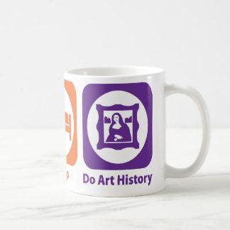 Eat Sleep Do Art History Coffee Mug