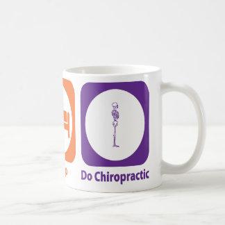 Eat Sleep Do Chiropractic Coffee Mug
