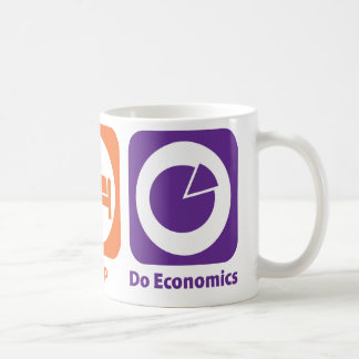 Eat Sleep Do Economics Coffee Mug