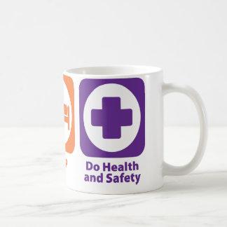 Eat Sleep Do Health and Safety Coffee Mug