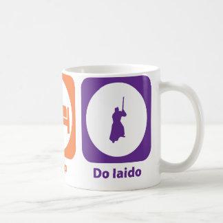 Eat Sleep Do Iaido Mugs