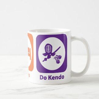 Eat Sleep Do Kendo Coffee Mug