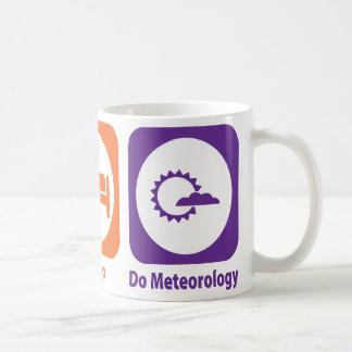 Eat Sleep Do Meteorology Coffee Mug