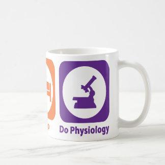 Eat Sleep Do Physiology Mug