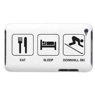 Eat Sleep Downhill Ski Case-Mate iPod Touch Case