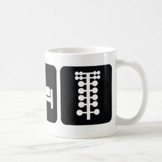Eat Sleep Drag Race Mug
